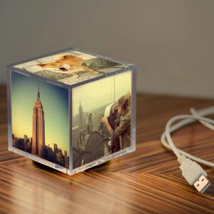 Cubee Photo Cube with Photo LIVE-AR technology will bring your photos to life with your Video!!