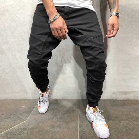 2018 Fashion Men Joggers Pencil Sweatpants Sportswear Fitness Track Pants Hip Hop Cool Streetwear Pants pantalon hombre