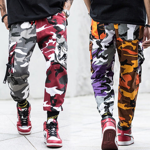Exclusive Camouflage Cargo Joggers