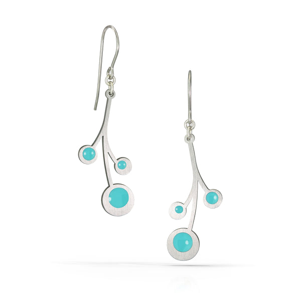 snowberry earrings