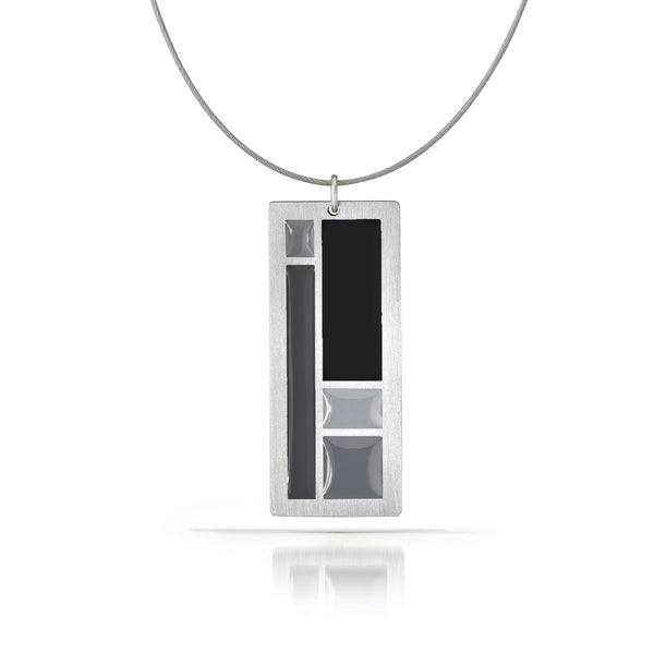 color block necklace