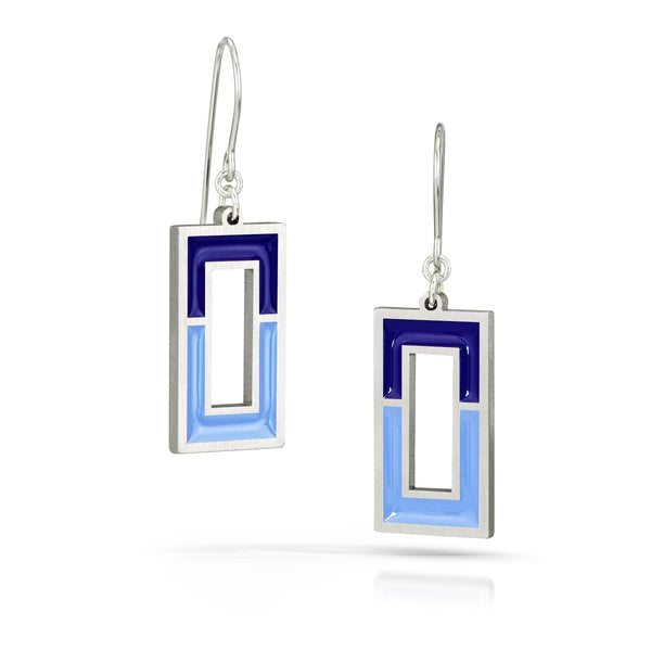 window earrings