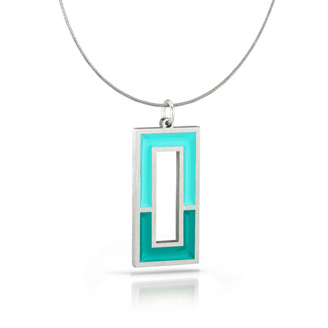 window necklace