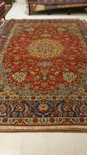 Alfombra persa, Najafabad 407x297 cm.