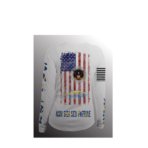 Women's US Navy - Long Sleeve