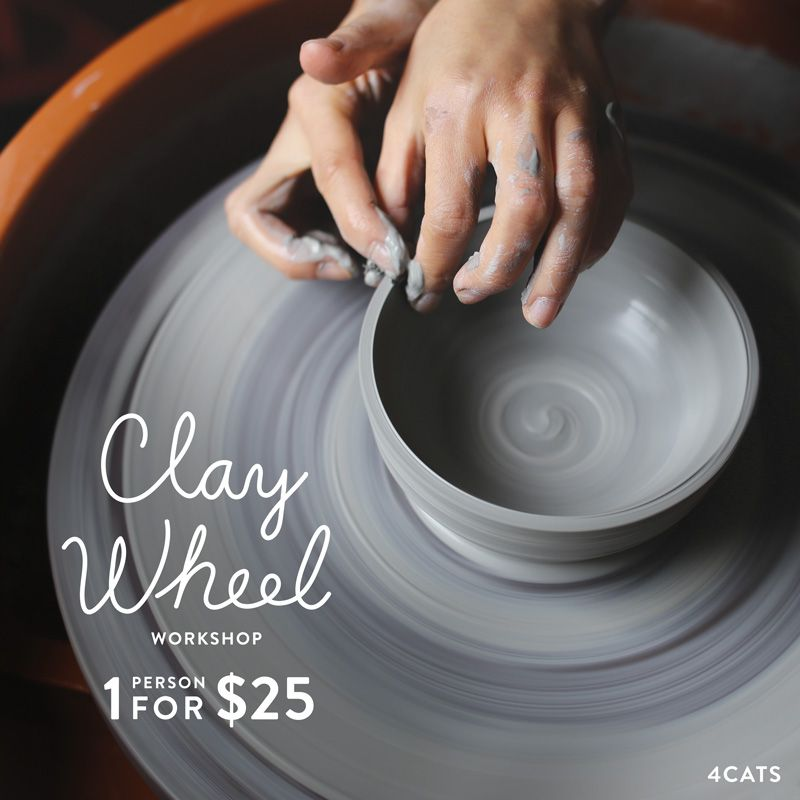 Clay Wheel—Ages 14 to Adult