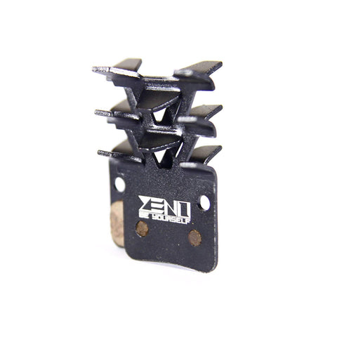 ZENO DRIVEN PERFORMANCE Supercool Disc Brake Pads for Shimano Disc Brake M505 M535 M545 M585 M595 M596 M601 M665 M765 M775 M776 M800 M965 M966 M975 BR-T665 Alfine A500 BRS505 BRS501 BRS500 Hone M601