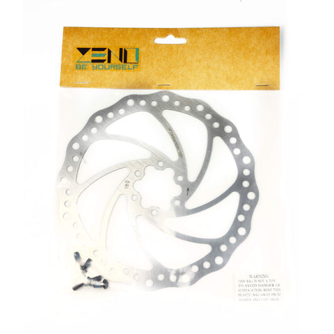 Zeno Soild Rotor 180mm + 6 Bolts