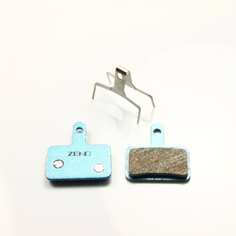 ZENO Cycle Parts Uniq High Performance semi-metalic compond Brake Pads For Shimano Deore M515 or same Type - zenocycle