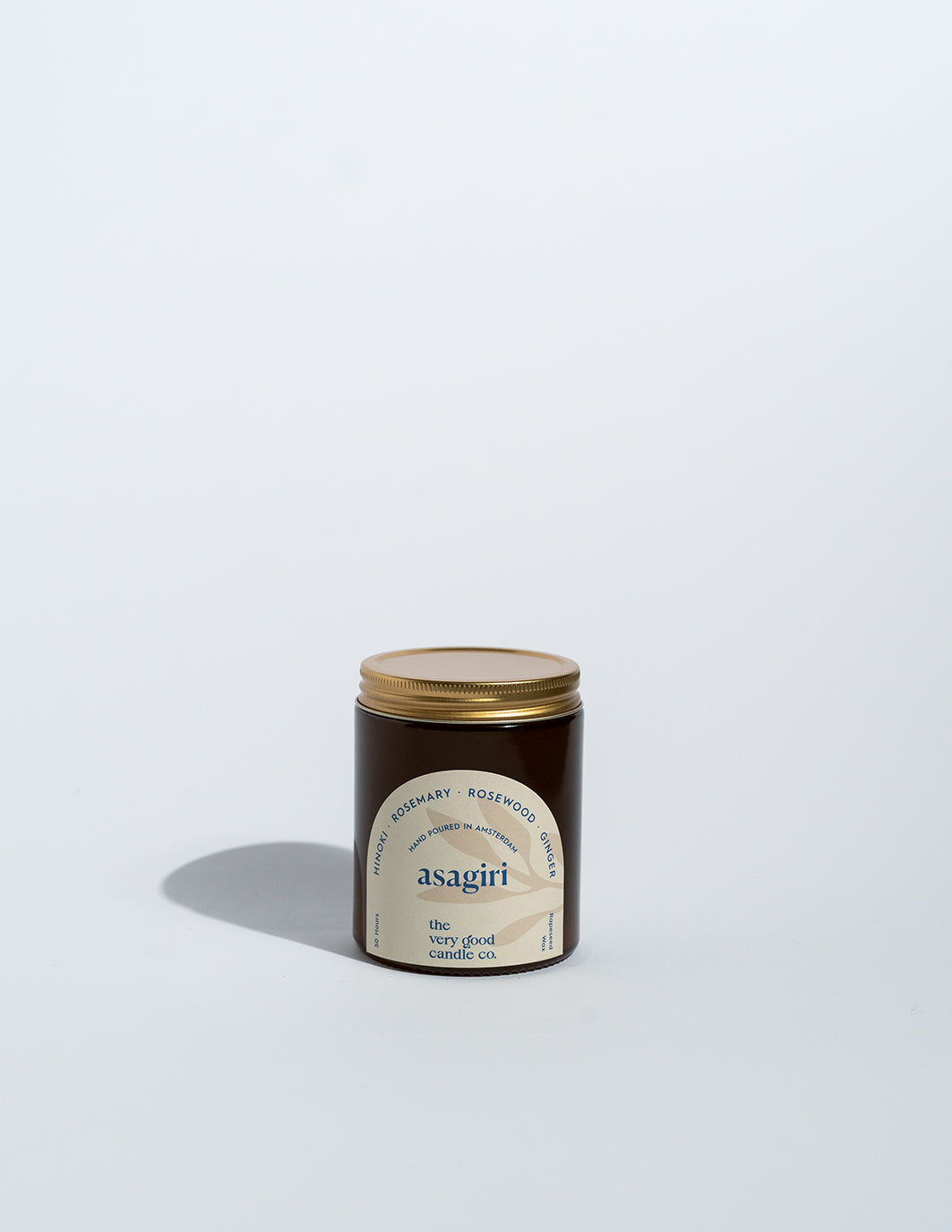 ASAGIRI - Rapeseed Candle Mid Size 170ml 45-50 Hours