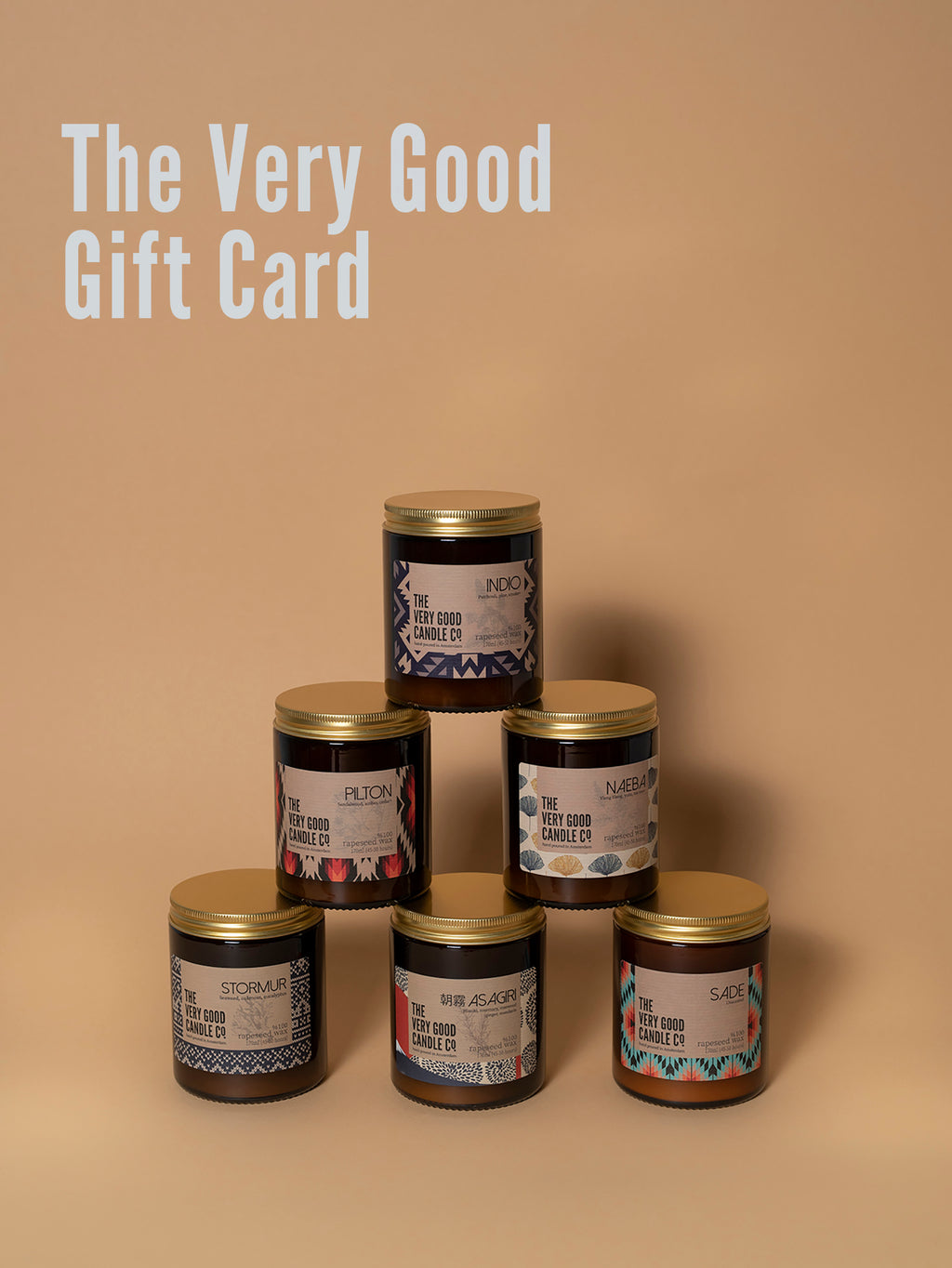 The Very Good GIFT CARD 25€ - 75€