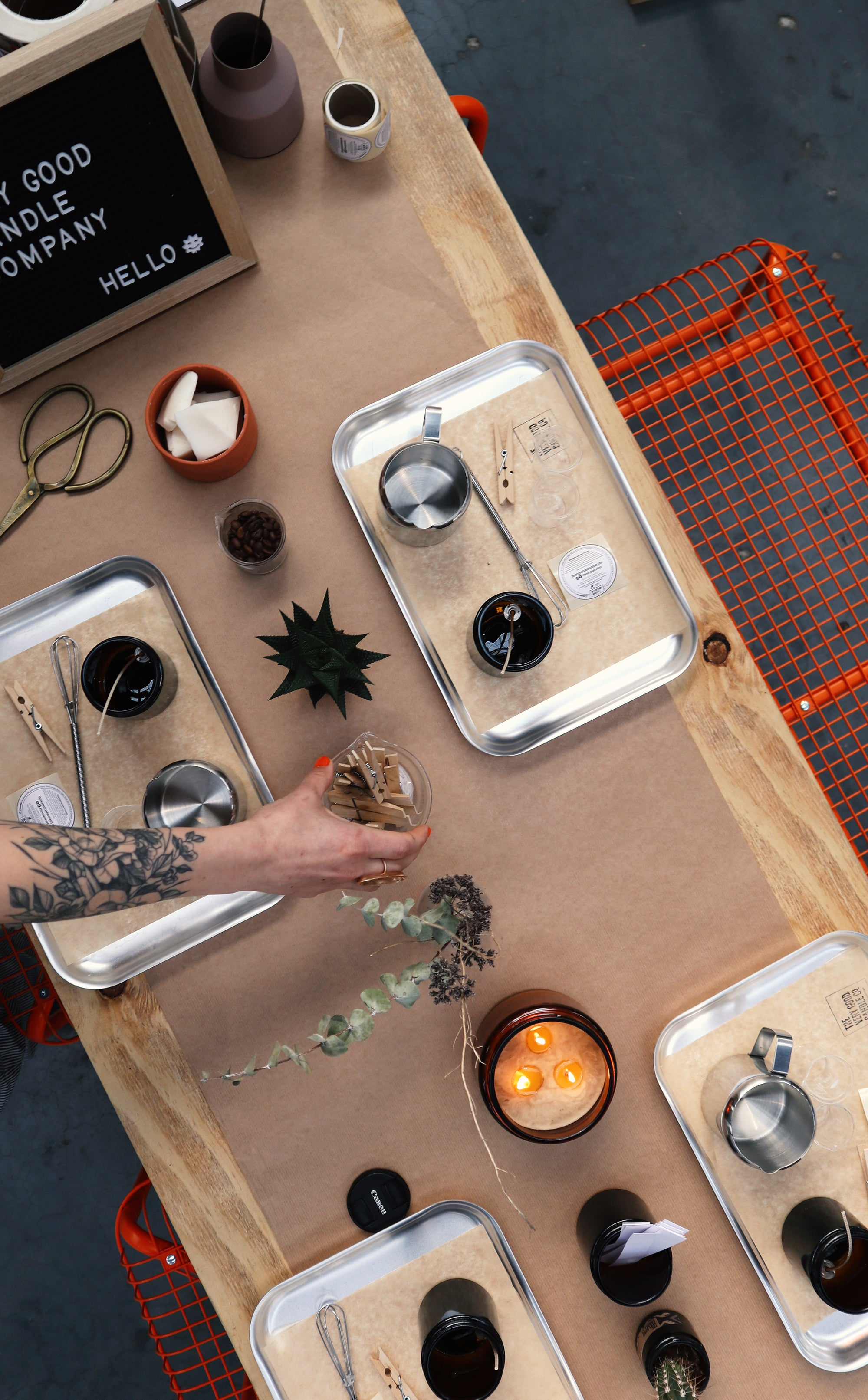 TheVeryGood Candle Making Workshop  THE LAB/Saturday 12th Sep, 14:00PM