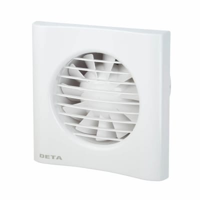 4 Inch Axial Extractor Fan with Timer