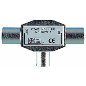 Cable Connectors Coax T Splitter – all metal