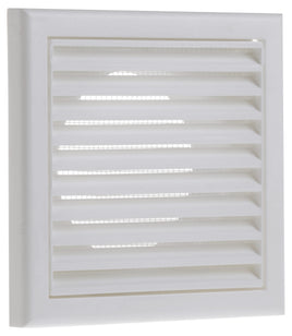 Fixed Grille 150mm White