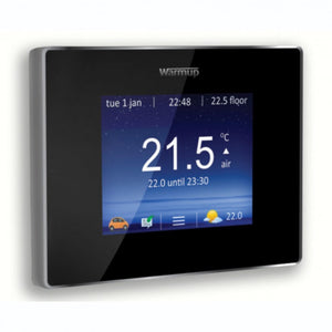 Warmup 4ie® Smart Wifi Thermostat, Onyx Black Wu-4ie-wifi-ob