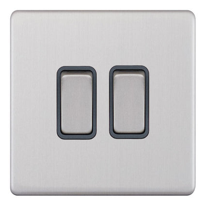 2 Gang 2 Way X-Rated 5M-Plus Plate Switches