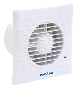 Silhouette 150X Extractor Fan with Shutter