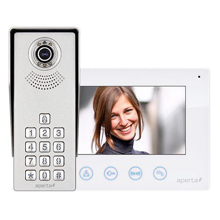 Colour Video Door Entry Keypad System
