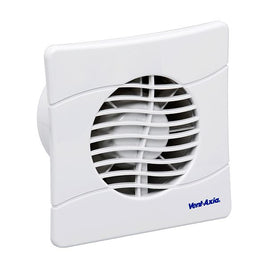 Basics BAS100SLT Slimline Shuttered Fan With Timer