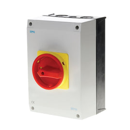 AC Isolator 3 Pole 100A Enclosed