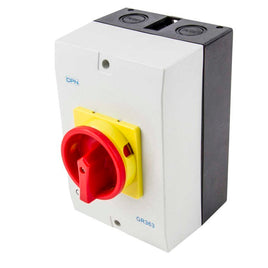 AC Isolator 3 Pole 63A Enclosed