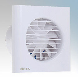 4 Inch Axial Extractor Fan with Timer and Humidistat