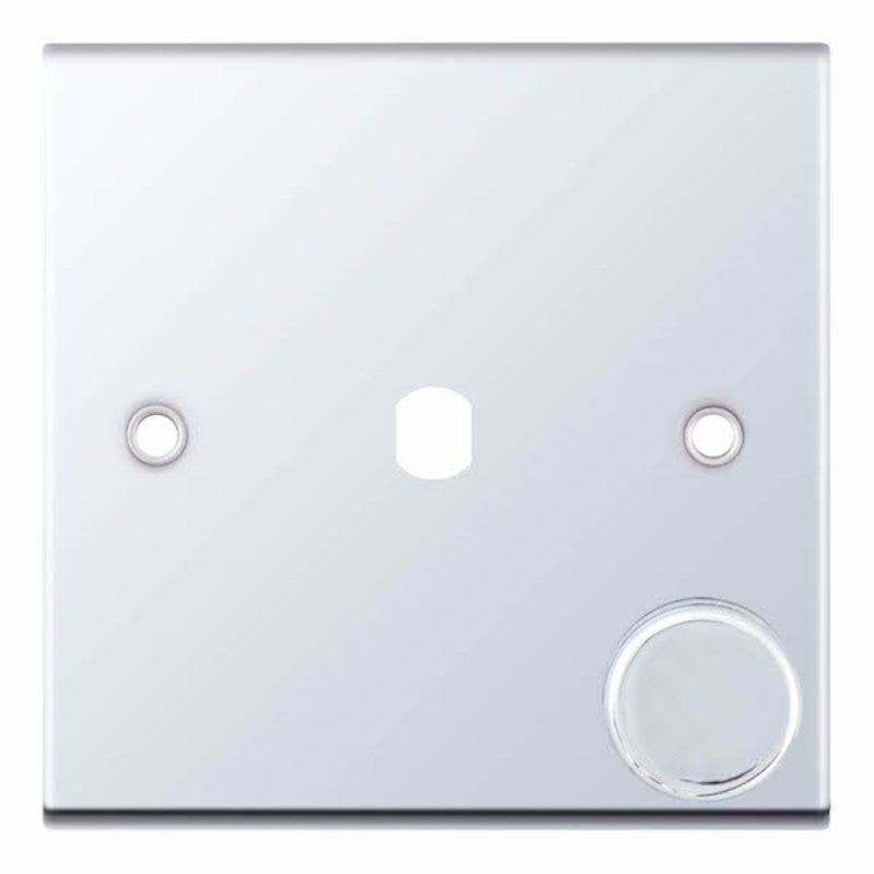 1 Aperture - Empty Dimmer Plate with Knob - 5M