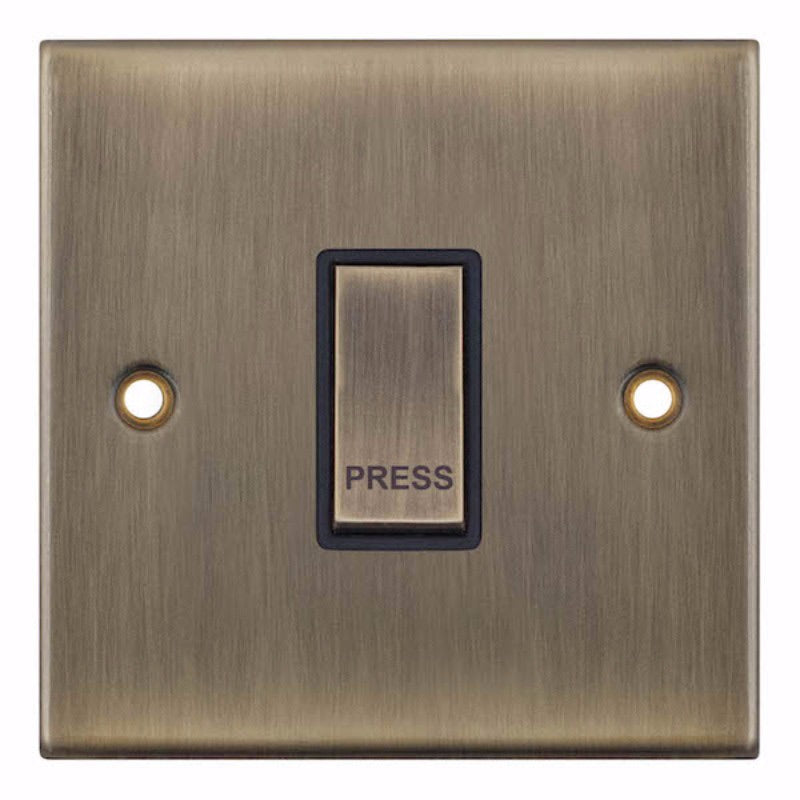 "1 Gang Push Switch ""PRESS"" - X-Rated 5M 10 Amp Switch"