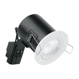 Mains Voltage GU10 Fixed Fire Rated Downlight