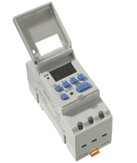 16A (AC-1) 230V AC 7 Day 24 Hour (Din Rail Mount) Digital