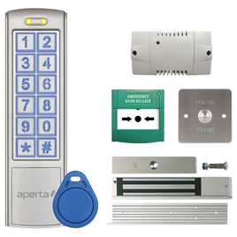 Proximity and Keypad Door Entry Kit