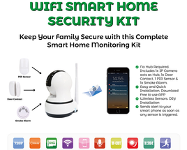 Smart Home Automation with Alarm