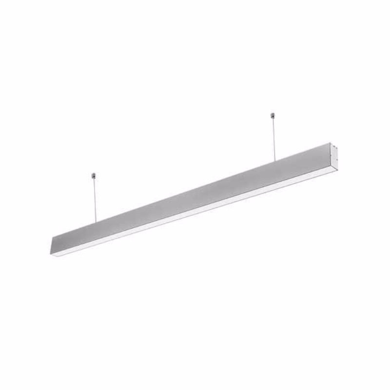 LED 40W  Linear Suspended Lights Silver