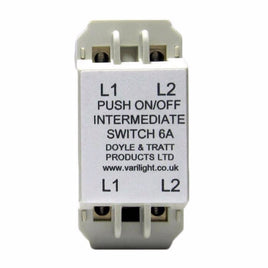 Intermediate Push-On/Off Switch Module (Dummy Dimmer) 6A