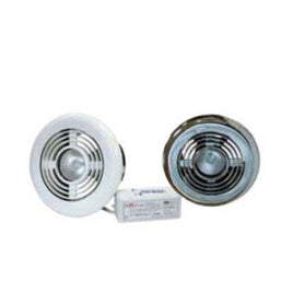 100mm Fan and Vent Light Kit Standard (105m³/h)