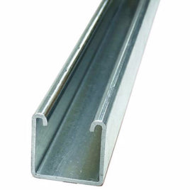 Unistrut Galvanised Steel/Stainless Steel 3m Channel Splice Support 1.91kg/m, Fits Channel Size 21 x 41mm
