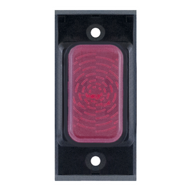 Black Neon Indicators Red Neon