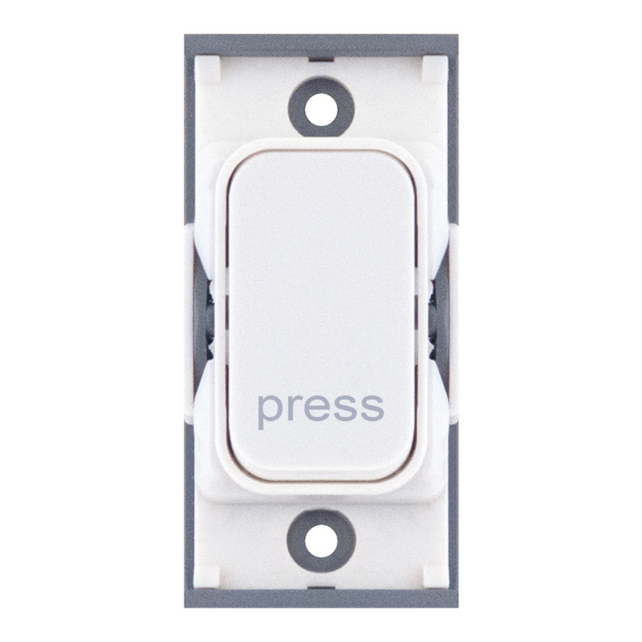"10 A ""Press"" Marked Retractive Switch"