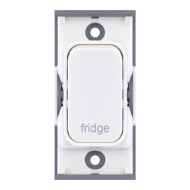 "20A DP switch engraved ""fridge"""