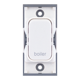 "20A DP switch engraved ""boiler"""