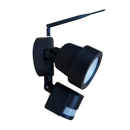 Wifi Outdoor Floodlight With PIR & Security Camera