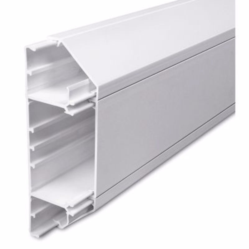 3m 3Compartment Dado Trunking Length 50 x 170mm SLC50/170