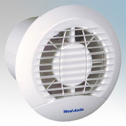 Ceiling Round Axial Extractor Fan With Pullcord IPX4