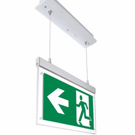 Emergency LED Exit Sign Recessed Hanging