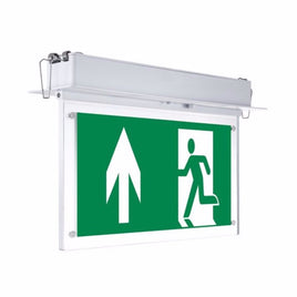 Emergency LED Exit Sign Recessed Fixed