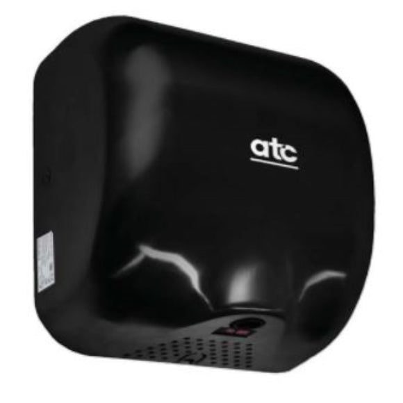 ATC Cheetah Automatic High Speed Hand Dryer Black Painted Steel,1475W