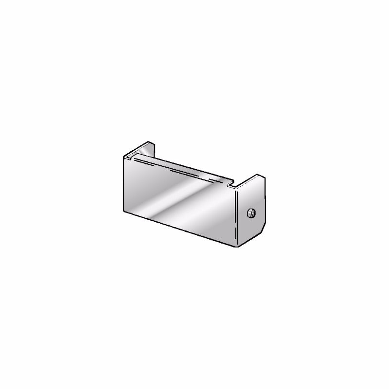 Trench Blank End 50mm x 50mm Galvanised