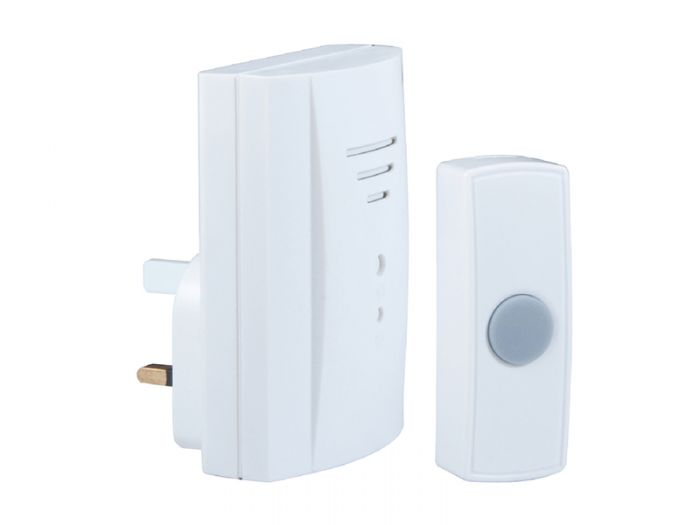 Wireless Plug-In Door Chime Kit 50m