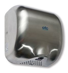 ATC Cheetah Automatic High Speed Hand Dryer Matt Stainless Steel,1475W